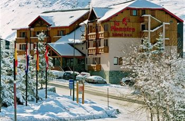 Alpy Francuskie, Les 3 Vallees, hotel Chalet le Menuire