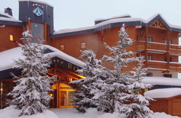 Alpy Francuskie, Les 3 Vallees, hotel Le Fitz Roy