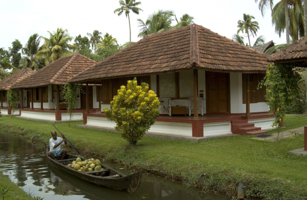 Indie Kerala hotel Coconut Lagoon wille