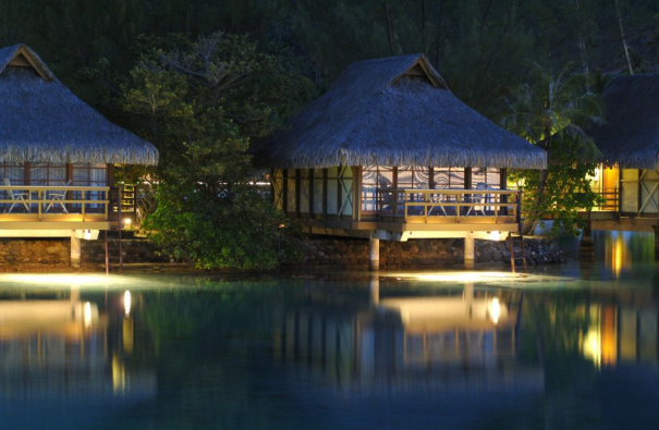 Polinazja hotel Intercontinental Resort and Spa, wyspa Moorea